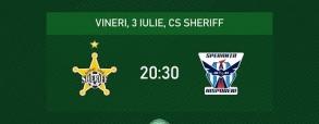 Sheriff Tiraspol 0:0 Speranta Nisporeni