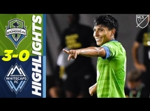 Seattle Sounders 3:0 Vancouver Whitecaps
