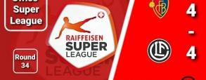 FC Basel 4:4 Lugano