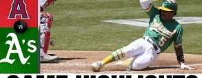 Oakland Athletics 3:0 Los Angeles Angels