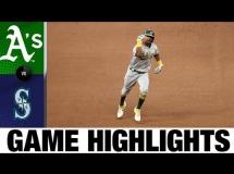Seattle Mariners 1:11 Oakland Athletics