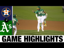 Oakland Athletics 3:2 Houston Astros