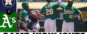 Oakland Athletics 4:2 Houston Astros