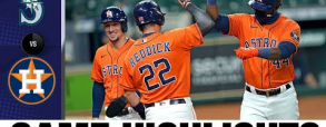 Houston Astros 11:1 Seattle Mariners