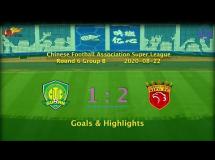 Beijing Guoan 0:2 Shanghai SIPG