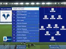 Verona 0:0 AS Roma