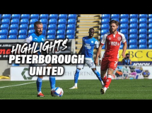 Peterborough 2:1 Fleetwood Town