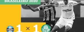 Gremio 1:1 Palmeiras