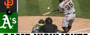 Oakland Athletics 2:14 San Francisco Giants