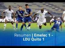 Emelec 1:1 LDU Quito
