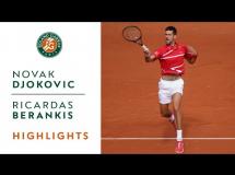 Novak Djoković 0:1 Ricardas Berankis