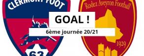 Clermont Foot 3:0 Rodez