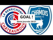 Chateauroux 2:0 Niort