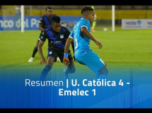 Universidad Catolica 4:1 Emelec