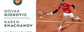 Novak Djoković - Karen Chaczanow