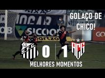 Santos 1:1 Atletico Goianiense
