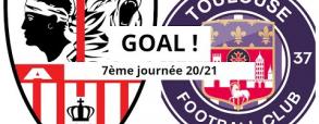 Ajaccio 0:1 Toulouse