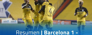 Barcelona SC 1:0 Delfin