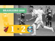 Atletico Paranaense 1:2 Gremio