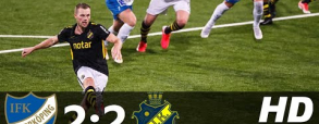 Norrkoping 2:2 AIK Stockholm