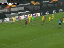 CFR Cluj 1:1 Young Boys