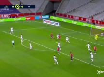 Lille 1:1 Olympique Lyon