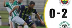 Fenerbahce 0:2 Konyaspor