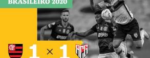 Flamengo 1:1 Atletico Goianiense