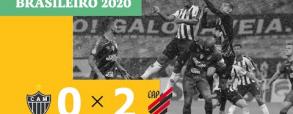Atletico Mineiro 0:2 Atletico Paranaense