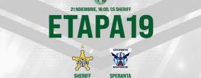 Sheriff Tiraspol 3:0 Speranta Nisporeni