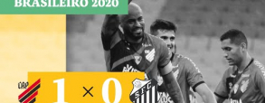 Atletico Paranaense 1:0 Santos