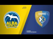 ALBA Berlin 100:80 Chimki Moskwa