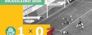 Palmeiras 0:1 Atletico Paranaense