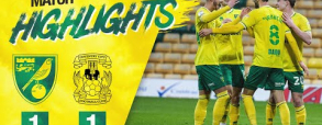 Norwich City 1:1 Coventry City