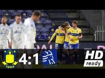 Brondby IF 4:1 Lyngby Boldklub