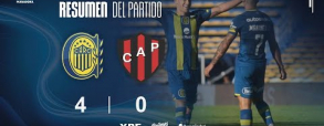 Rosario Central 4:0 Patronato