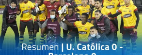 Universidad Catolica 0:0 Barcelona SC