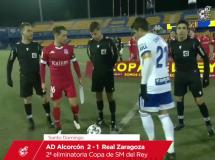 Alcorcon 2:1 Real Saragossa