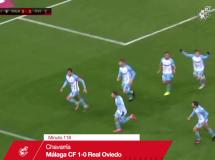 Malaga CF 1:1 Real Oviedo