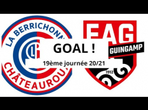 Chateauroux 2:3 Guingamp