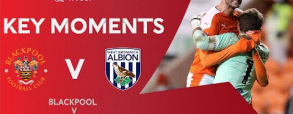 Blackpool 2:2 West Bromwich Albion