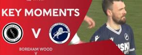 Boreham Wood 0:2 Millwall