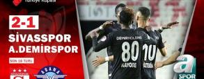 Sivasspor 1:1 Adana Demirspor
