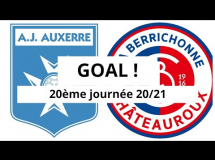 Auxerre 1:0 Chateauroux