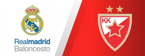 Real Madryt 77:79 Crvena Zvezda