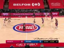 Detroit Pistons 4:1 Houston Rockets