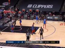 Los Angeles Clippers 117:122 Oklahoma City Thunder