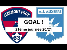 Clermont Foot 1:0 Auxerre