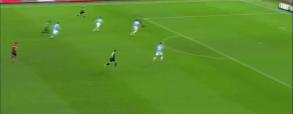 Lazio Rzym 2:1 Sassuolo