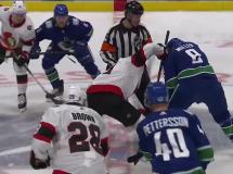 Vancouver Canucks 7:1 Ottawa Senators